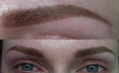 Анна Безуглая - Перманентный макияж (мои работы) - фото 1