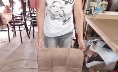 Перетяжка мягкой мебели - Перетяжка компьютерных кресел и стульев - фото 2