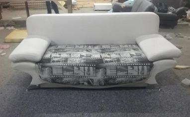 Перетяжка мягкой мебели - Перетяжка диванов, кухонных уголков - фото 1