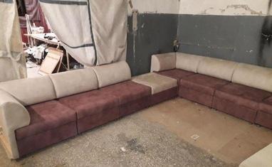 Перетяжка мягкой мебели - Перетяжка диванов, кухонных уголков - фото 5
