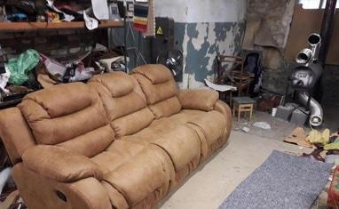 Перетяжка мягкой мебели - Перетяжка диванов, кухонных уголков - фото 3