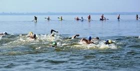 Статья 'Международный заплыв через Днепр состоялся в Черкассах '