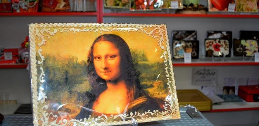 'В Черкассах создают портреты из шоколада'