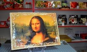 Статья 'В Черкассах создают портреты из шоколада'