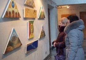 Статья 'В Черкассах открылась оригинальная выставка картин '