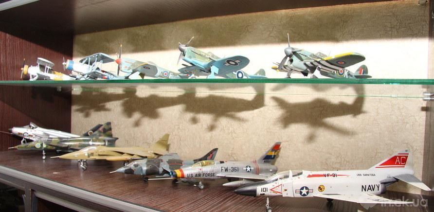 Колекція літаків Петра Хорошко (фото — Art Photo Studio) - фото 4