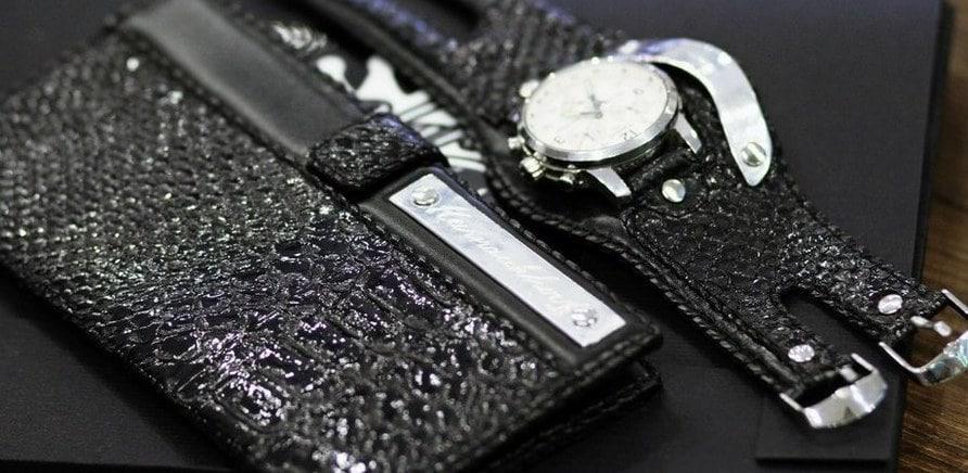 Фото 2 - Браслет під годинник (фото зі сторінки у ВКонтакте)