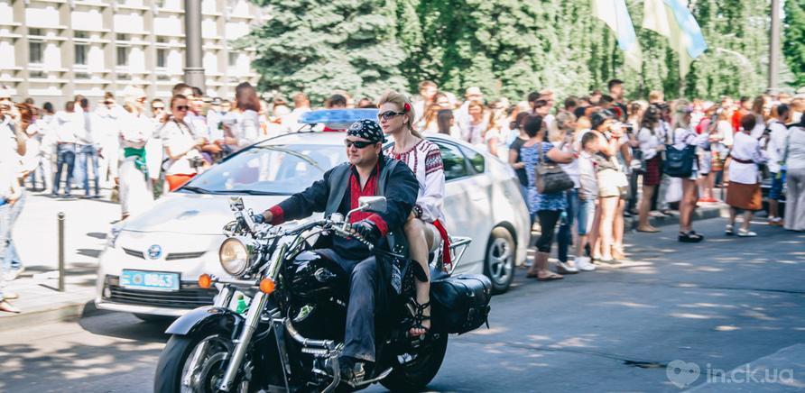 Фото 9 - В Черкассах шествие в вышиванках организовывают несколько лет подряд