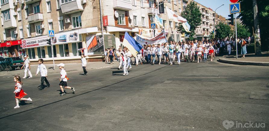 Фото 13 - В Черкассах шествие в вышиванках организовывают несколько лет подряд