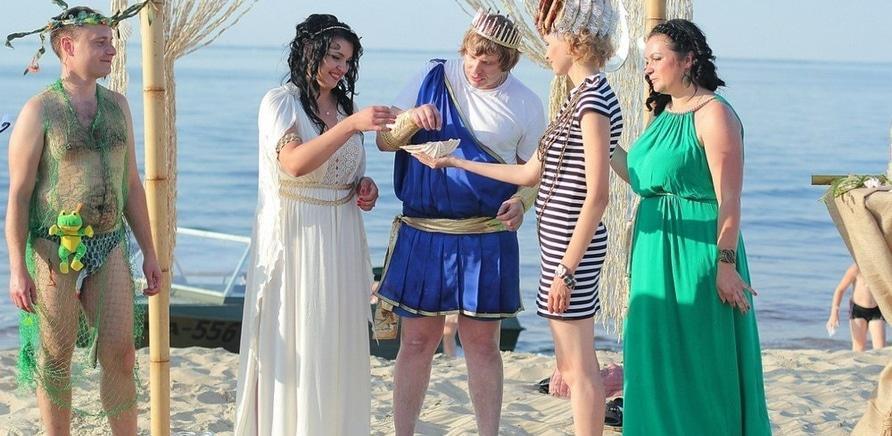 """Фото 5 - Необычная церемония бракосочетания """"Перуна"""" и морской богини"""