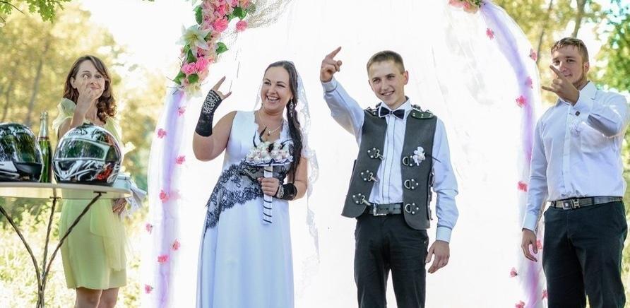 Фото 5 - Свадьба по-байкерски: маленький семейный фестиваль