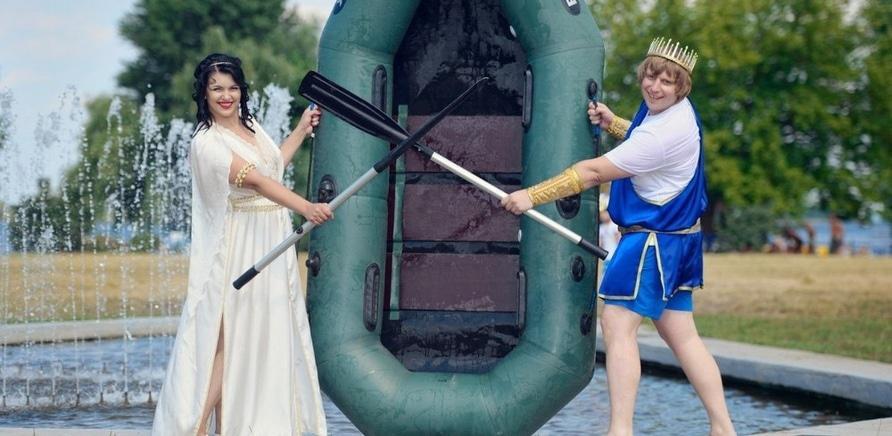 Фото 1 - Морская свадьба: креатив в центре Черкасс