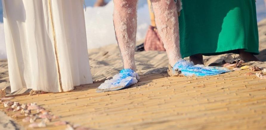 Фото 3 - Морская свадьба: креатив в центре Черкасс