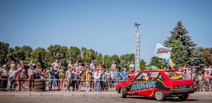 'В Черкассах состоялся первый этап национального автослалома'