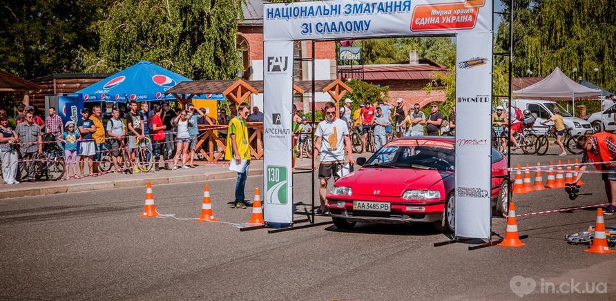 Фото 1 - В Черкассах состоялся первый этап национального автослалома