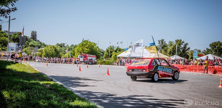 Фото 7 - В Черкассах состоялся первый этап национального автослалома
