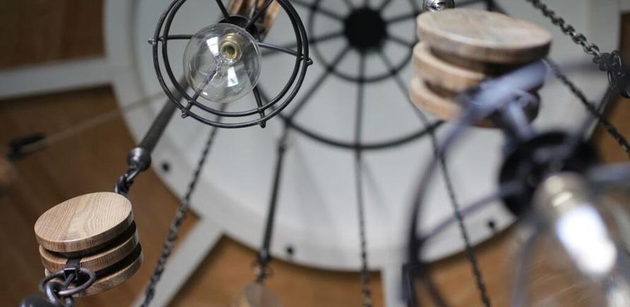 """Фото 1 - Інтер'єр ресторану """"Faro del Porto"""" на черкаському пірсі"""