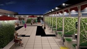 """Статья 'На крыше ТРЦ """"Pioneer"""" появится парк'"""