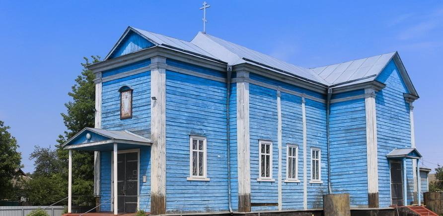 Констянтинівка. Церква вознесіння господнього