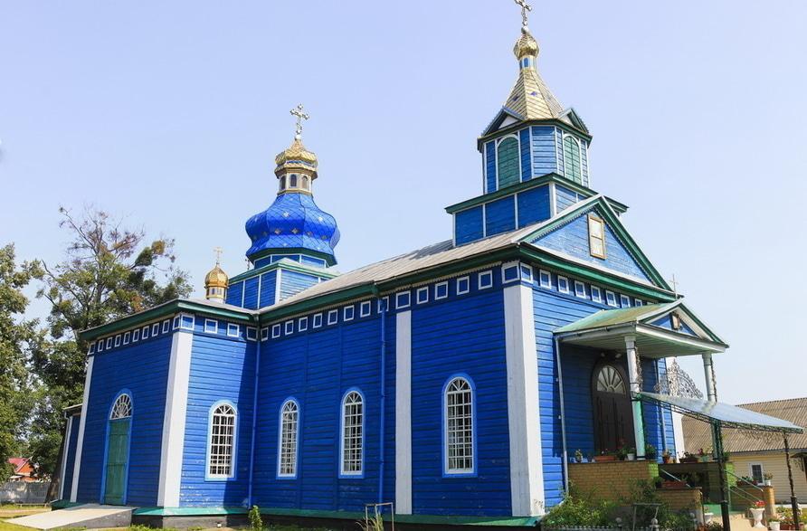 Святопреображенська церква. Білозір'я