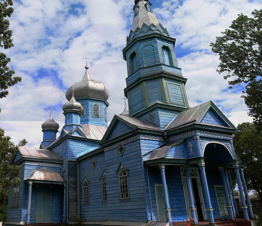 Успенська церква. Жаботин