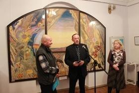 Стаття 'Черкащанам презентували виставку однієї картини'