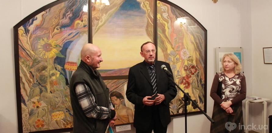 Фото 3 - Черкасщанам представили выставку одной картины