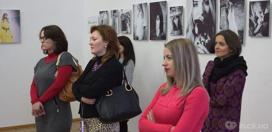 Фото 9 - Известная певица Ольга Горбачева презентовала черкасщанкам фотовыставку