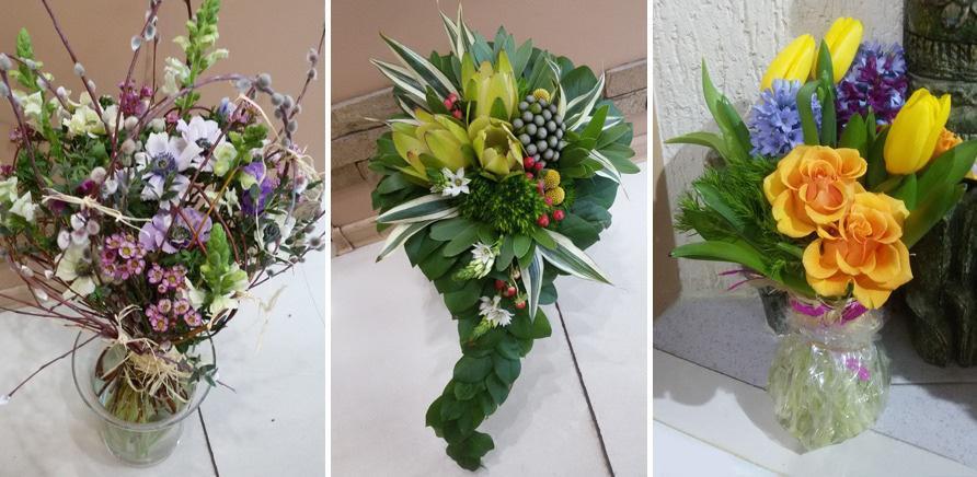 Как оформить букет из цветов пошагово