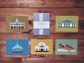 Статья 'У Черкасс появились фирменные открытки с архитектурными памятниками'