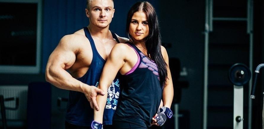 Андрій Сніжко з дружиною