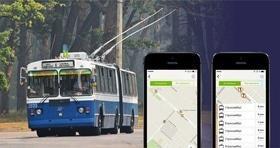 Статья 'Движение черкасских троллейбусов можно будет отследить через специальное приложение'
