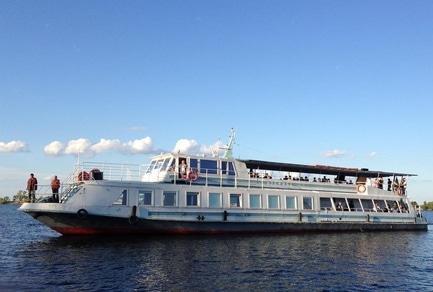 'Маевка' - статья Сегодня стартует сезон туристической навигации по Днепру