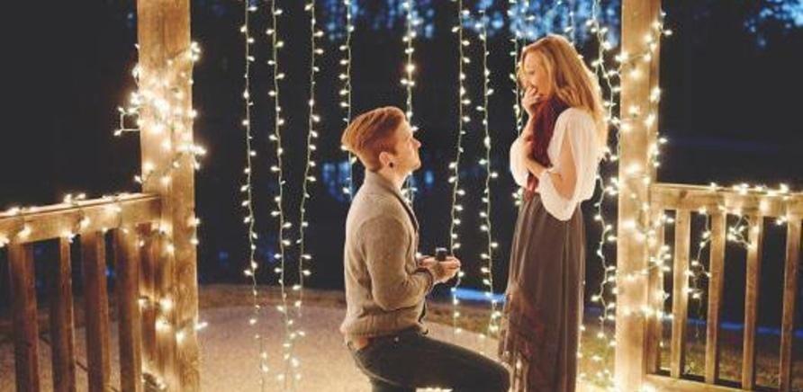 'Давай поженимся: истории нестандартных предложений руки и сердца'