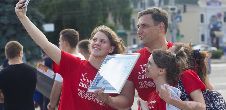 Фото 11 - Качай пресс: черкасщане установили новый спортивный рекорд Украины