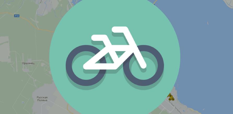 'Карта велопаркінгів Черкас'