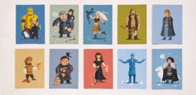 """Статья 'Герои """"Игры престолов"""" появились на открытках черкасских дизайнеров'"""