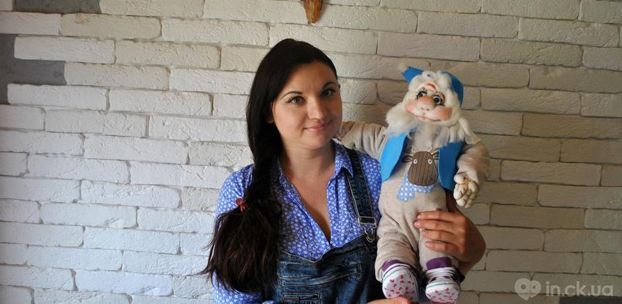 Фото 3 - Черкасская мастерица изготавливает интерьерные куклы из капрона