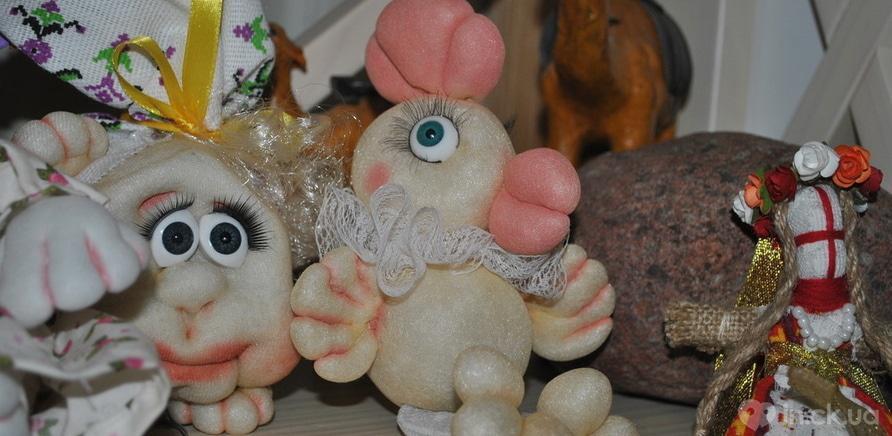 Фото 5 - Черкасская мастерица изготавливает интерьерные куклы из капрона