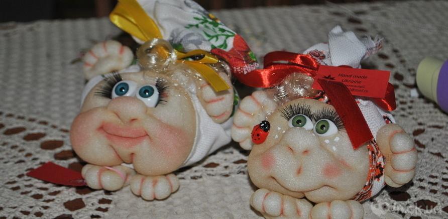 Фото 7 - Черкасская мастерица изготавливает интерьерные куклы из капрона