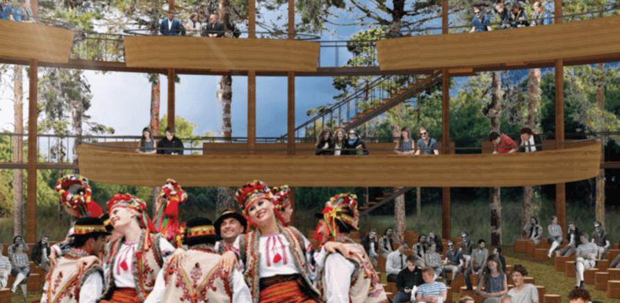 Фото 2 - Який вигляд матиме новий літній кінотеатр у Черкасах?