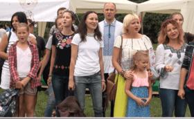 Статья 'В Черкассах провели первый в Украине флешмоб скороговорок'