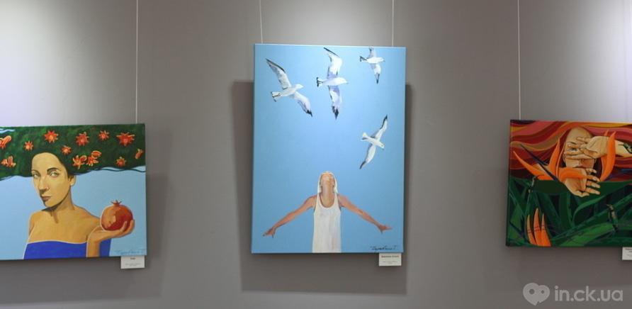 """Фото 2 - Відома черкаська художниця показала публіці свої """"Прояви"""""""