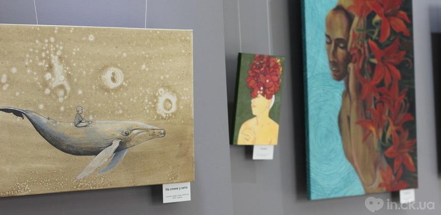 """Фото 5 - Відома черкаська художниця показала публіці свої """"Прояви"""""""