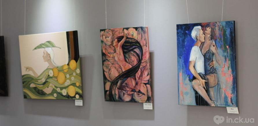 """Фото 8 - Відома черкаська художниця показала публіці свої """"Прояви"""""""