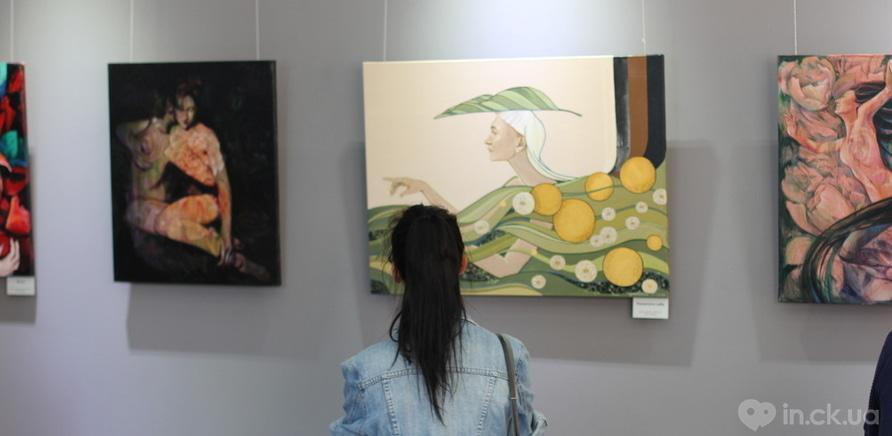 """Фото 10 - Відома черкаська художниця показала публіці свої """"Прояви"""""""