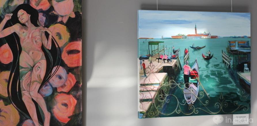 """Фото 11 - Відома черкаська художниця показала публіці свої """"Прояви"""""""