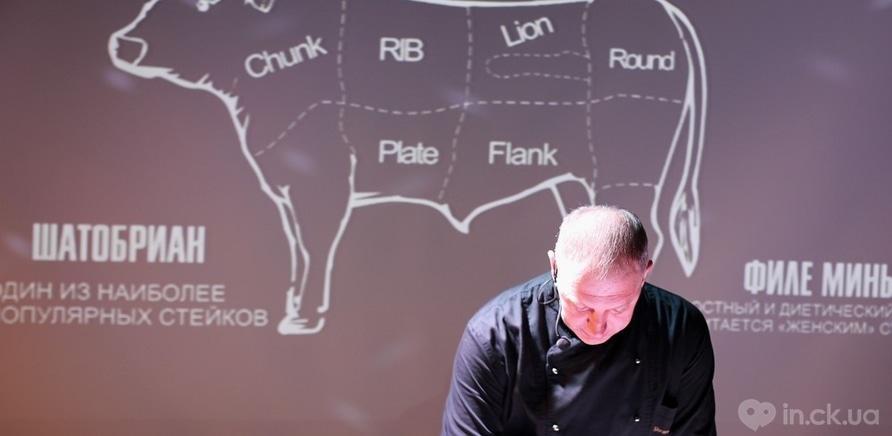 Фото 4 - Столичный бренд-шеф Юрий Шрамченко открыл черкасщанам тонкости приготовления мяса по технологии сю-вид