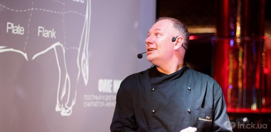 Фото 6 - Столичный бренд-шеф Юрий Шрамченко открыл черкасщанам тонкости приготовления мяса по технологии сю-вид