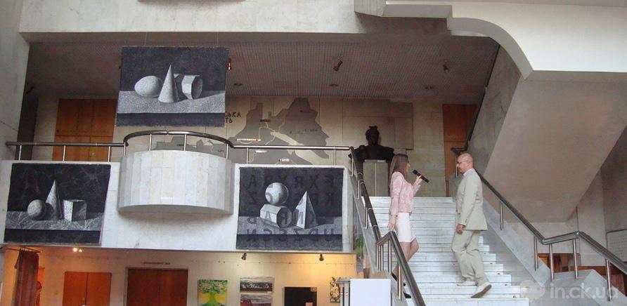 """Фото 1 - Выставка современного искусства """"Диалоги"""" стартовала в Черкассах"""